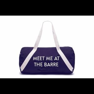 Private Party Meet me at the barre denim bag